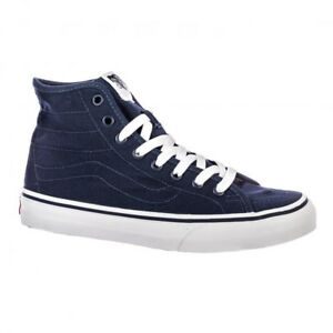 c4d0380147 VANS Sk8 Hi Decon (Canvas) Dress Blues True White High Top Sk8 ...