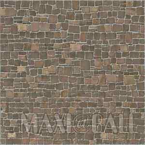 Details zu Fliesen Feinsteinzeug Bodenfliesen Muster Alicante braun 41x41cm  | Stein-Mosaik
