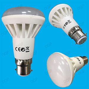 2x-9W-BC-B22-R63-6500K-Reflector-Daylight-White-LED-Spot-Light-Bulb-Lamp-720lm