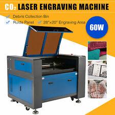 Omtech 60w 28x20 Laser Engraving Machine Co2 Laser Cutter Engraver Motorized Z