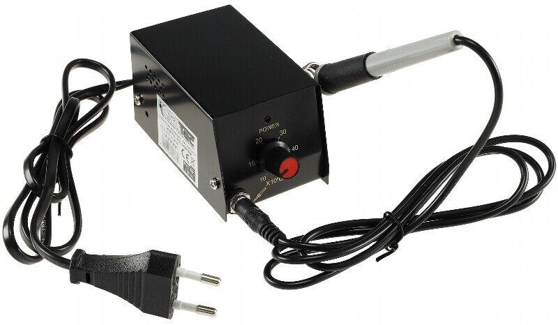8W Präzisions-Lötstation regelbar von 100-425C° Micro Lötnadel  230V