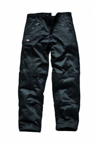 Dickies Redhawk Men/'s Action Trousers Black wd814 KNEE PAD TROUSERS WORKWEAR