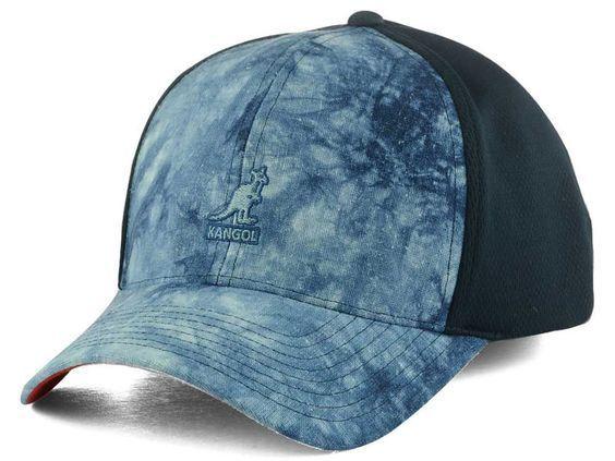 76469ba905b Kangol Distressed Stretch Mens Blue L xl Hat Baseball Cap 20820270 for sale  online