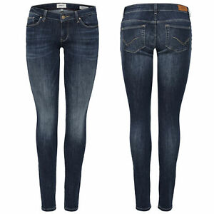 ONLY Damen Hüft Jeans Hose onlCORAL SL SK REA3269 NOOS superlow skinny hellblau