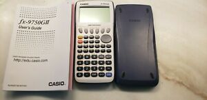 casio-fx-9750gii-graphing-calculator-with-book-instructions-excellent-conditio