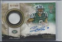 BRYCE PETTY 2015 TOPPS VALOR JETS RPA ROOKIE PATCH AUTO RC #D 27/800