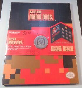 Nintendo-Super-Mario-Bros-Collector-Coin-amp-Album-ThinkGreek-Still-Sealed
