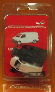 Herpa-013550-minikit-VW-t6-recuadro-blanco-scale-1-87-nuevo-embalaje-original