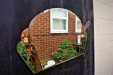 Art deco 3 tone mirror