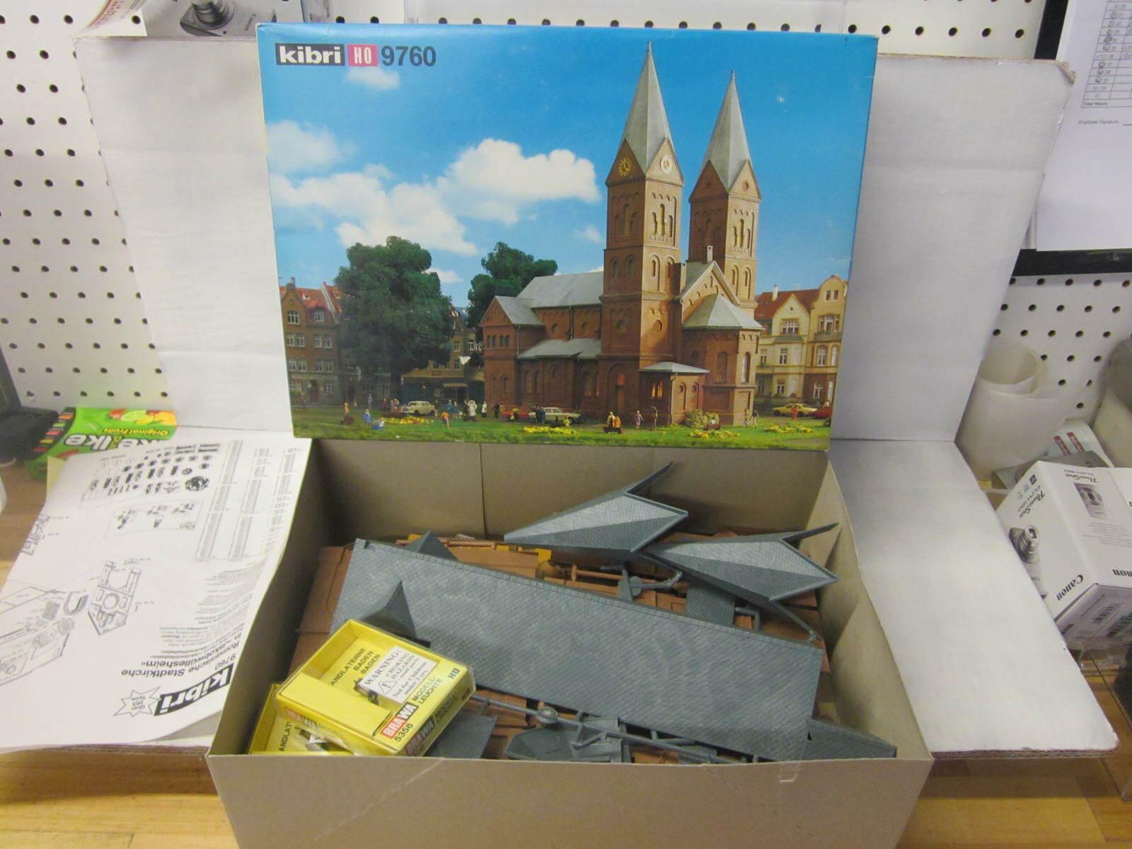 KIBRI 9760 Church Chapel Building HO Model Kit
