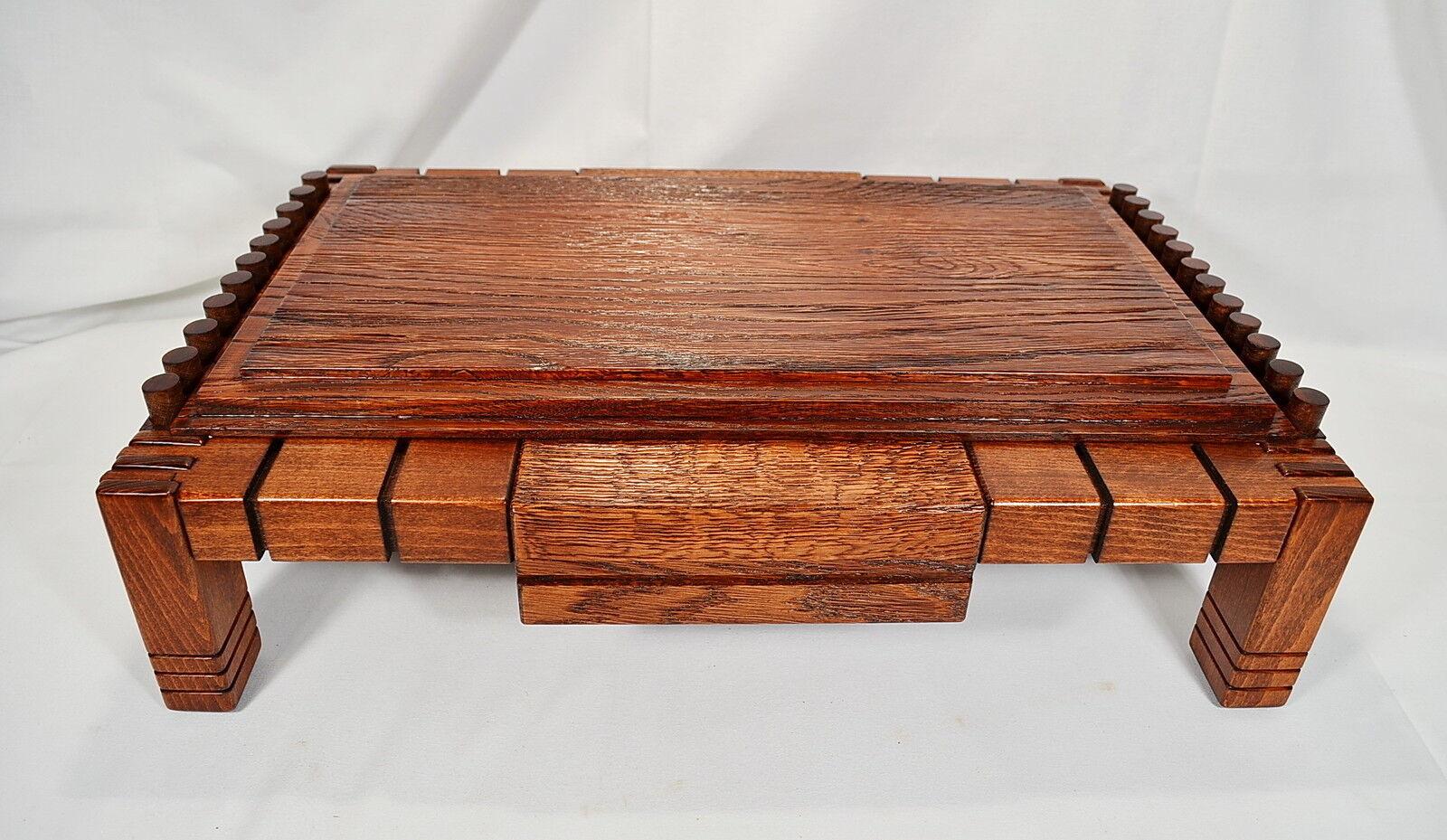 BONSAI tavolo è costituito da due tipi di legno faggio e quercia molto costose, lavoro