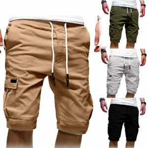 Summer-Men-039-s-Casual-Comfy-Shorts-Baggy-Gym-Sport-Jogger-Sweat-Shorts-Pants