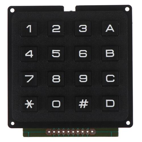 4 x 4 Matrix Array 4 4 16 Tasten Tastenfeld Tastaturmodul für arduiRSDE