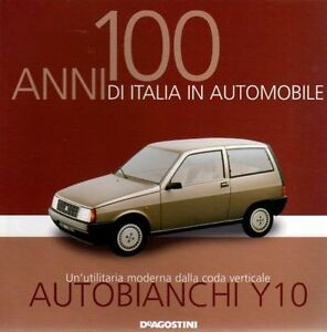 Booklet-AUTOBIANCHI-Y10-LANCIA-rare-30-PAGES