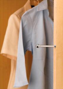 Valet Rod Insert for Closet Chrome (Rev-A-Shelf)