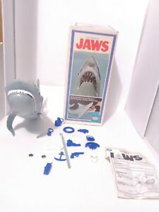 Vintage-Jaws-The-Game-1975-Ideal-With-Original-Box-Complete-2-Broken-Pieces