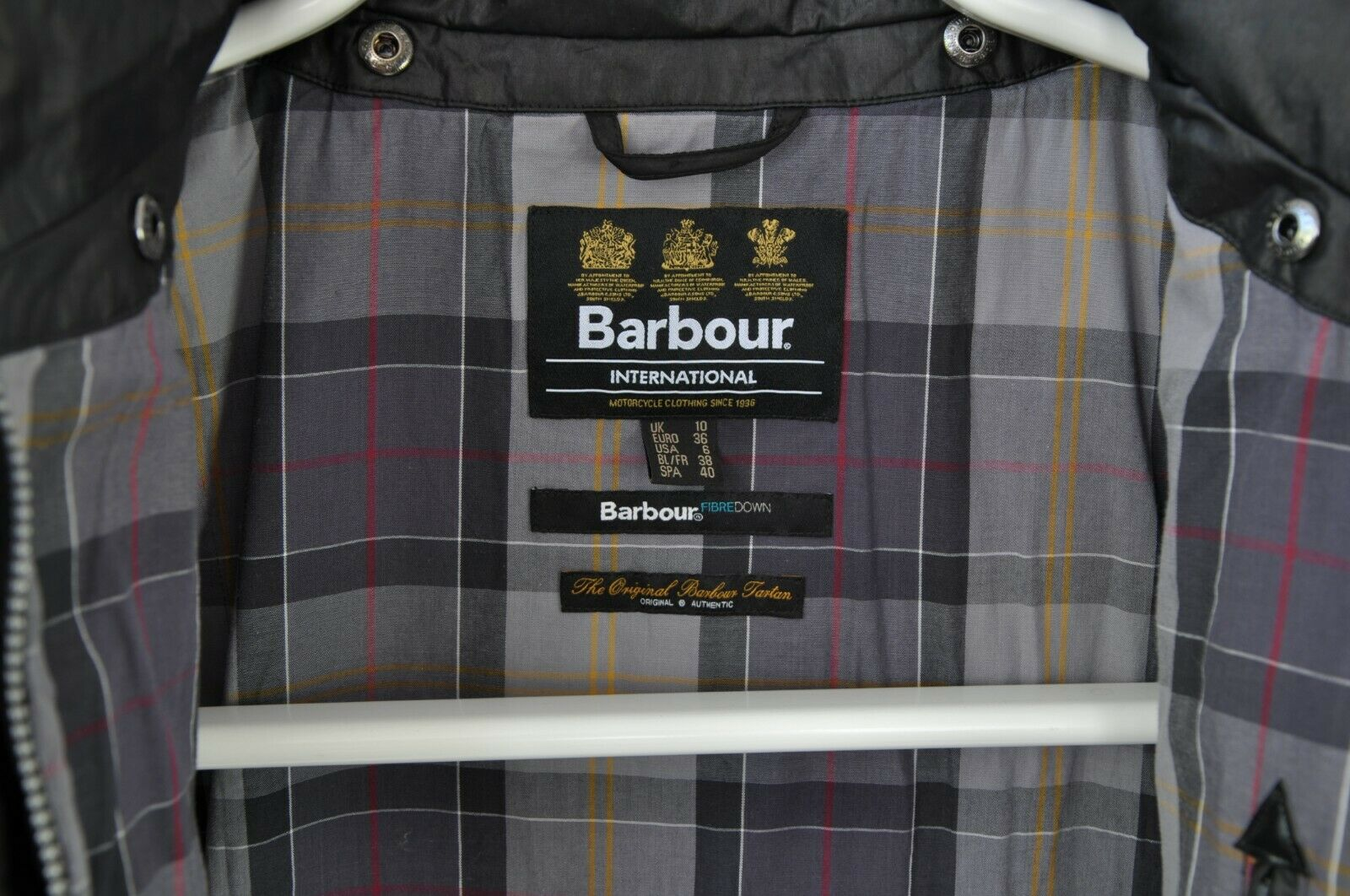 WOMENS BARBOUR INTERNATIONAL 'CROWN' QUILTED PUFF… - image 8
