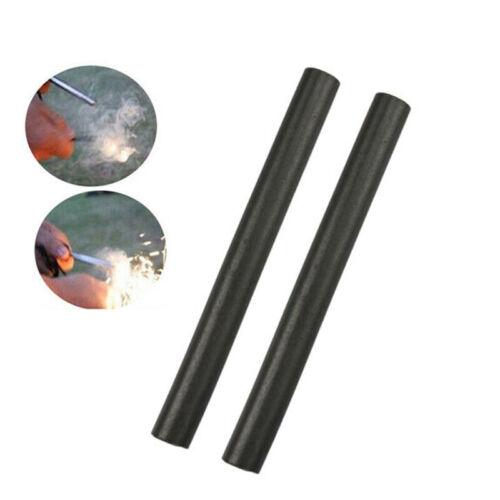"""2 Huge 1//2/"""" x 5 inch EDC Ferro Rod Fire Starter Ferrocerium Flint Survival Kit"""