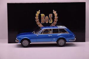 Bos 1/18 Peugeot 504 Riviera Break Chasse Pininfarina 1971 Neuf Boite Bos058