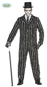 Vestiti Eleganti Halloween.Costume Scheletro Suit Carnevale Tg Large Vestito Guirca Halloween