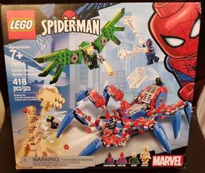 LEGO Marvel Spider-Man Spider-Mans Spider Crawler set 76114 418 Pcs