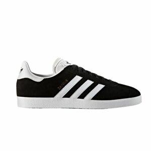 Details about adidas Originals Gazelle Men's Trainers - Black/White - BB5476 - Size UK 7-11