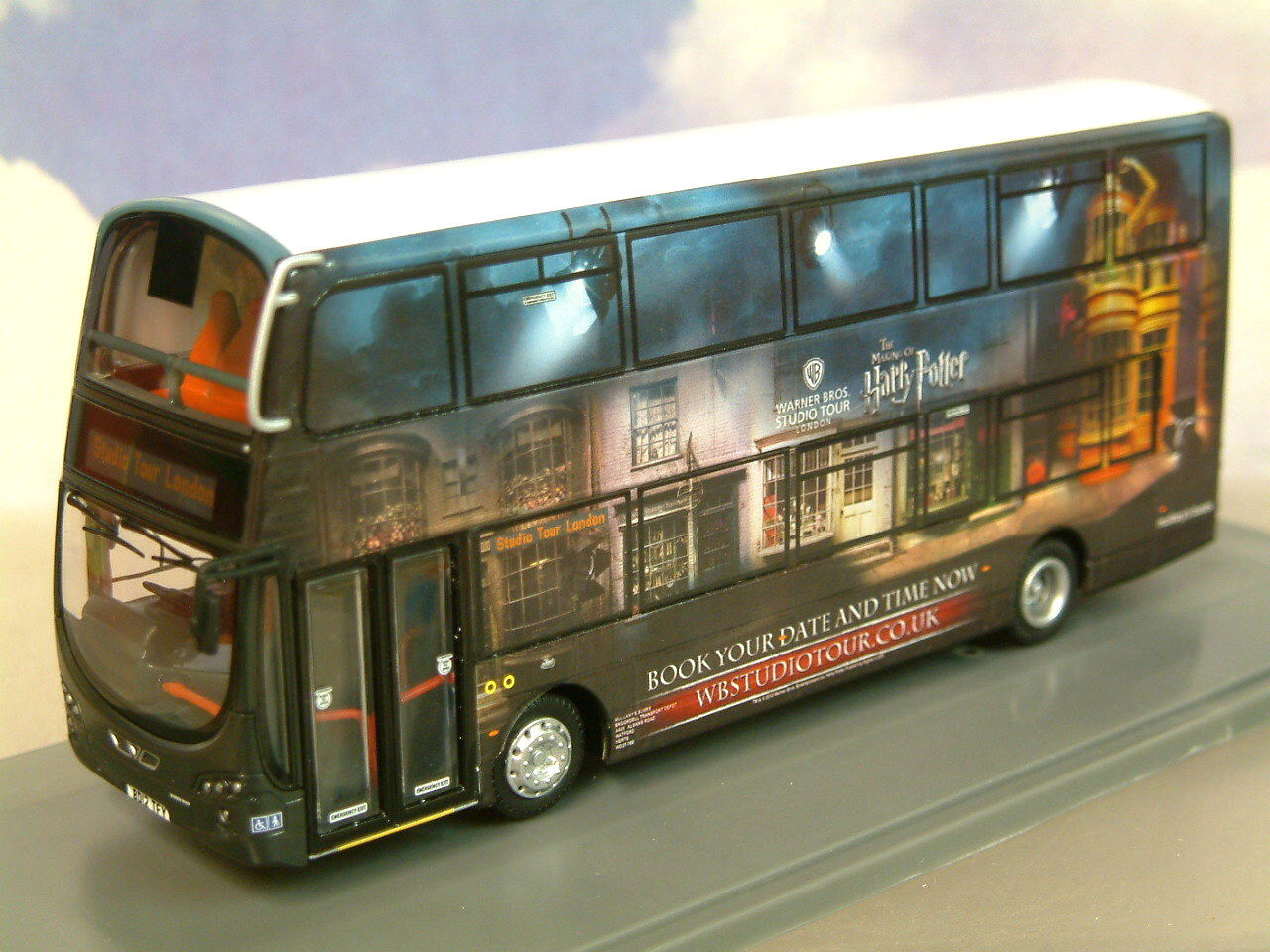 CORGI 1 76 WRIGHT ECLIPSE GEMINI 2 HARRY POTTER STUDIO TOUR SHUTTLE BUS OM46511