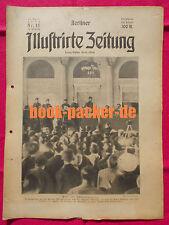 BERLINER ILLUSTRIRTE ZEITUNG 1923 Nr. 15: Der blutige Sonnabend in Essen