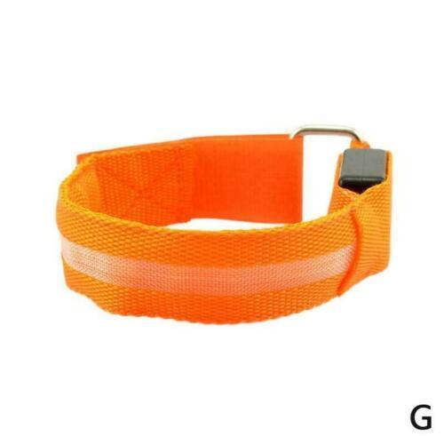 USB Charging Night Running Led Armband Outdoor Cycling Jogging Arm Strap V8H2
