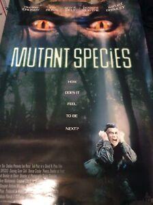 mutant species promo poster minor corner crease