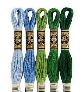 DMC Embroidery Floss - Colors 52 - 334 Choice