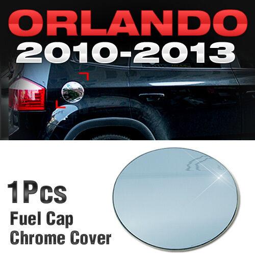 Chrome Fuel Cap Cover Garnish Molding B322 For Chevy Holden 2010-2016 Orlando
