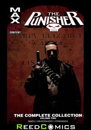 440 Pages PUNISHER MAX COMPLETE COLLECTION VOLUME 2 GRAPHIC NOVEL Paperback