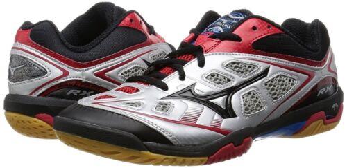Mizuno Japon Badminton Chaussures Wave Fang Rx 71ga1505 Argent Noir Rouge Ems
