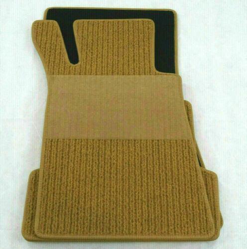 Rips Fußmatten passend für Mercedes Benz R107 SL DATTEL RUTSCHFEST NEU
