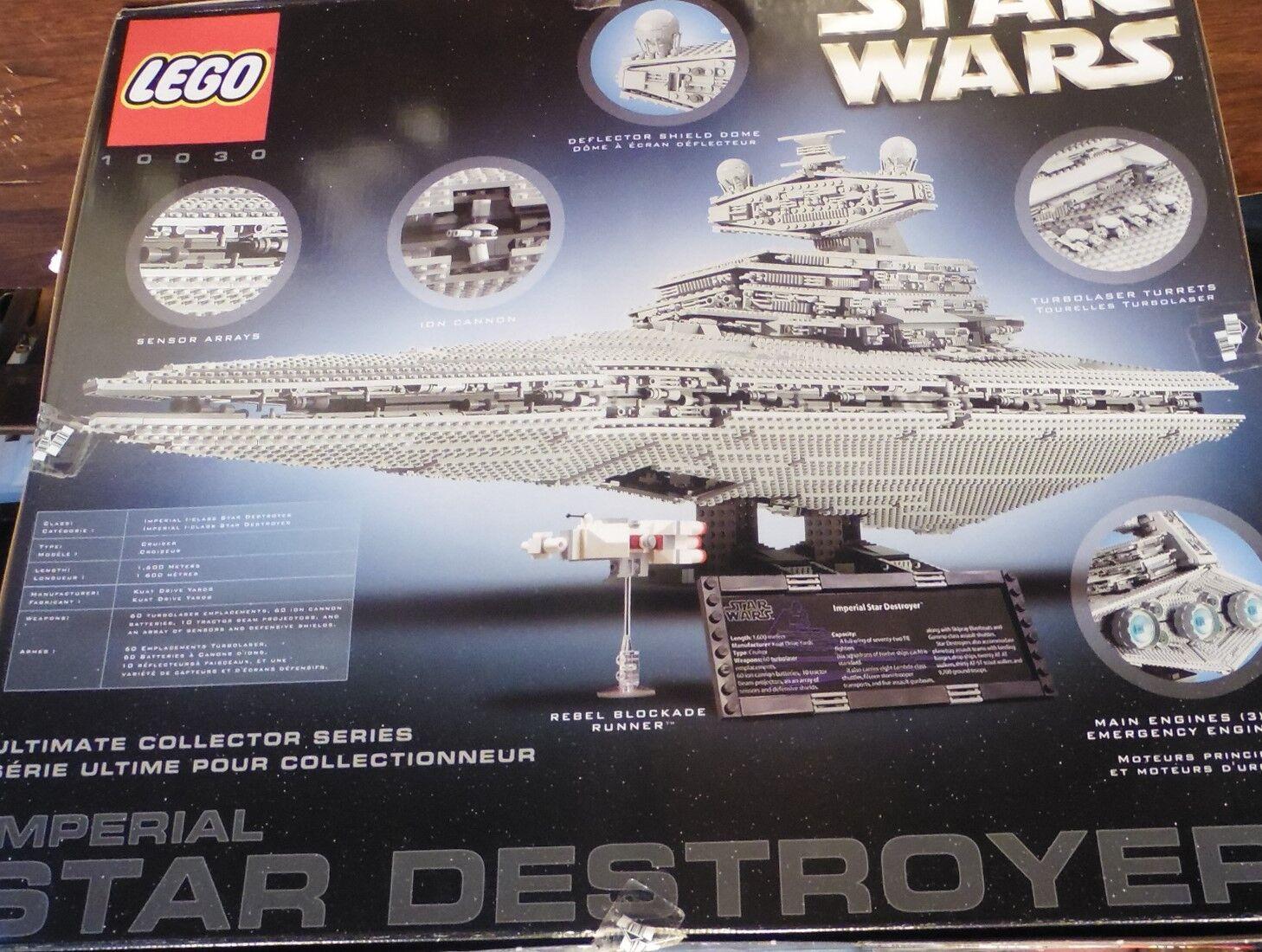 Nuevo Lego Star Wars Imperio 10030 Imperial Star Destroyer UCS-Envío Todo El Mundo