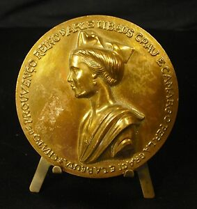 """100% De Qualité Médaille Reine De Provence """" Chato De Prouvenço Reino D Arle Libaus Crau E Medal Texture Nette"""