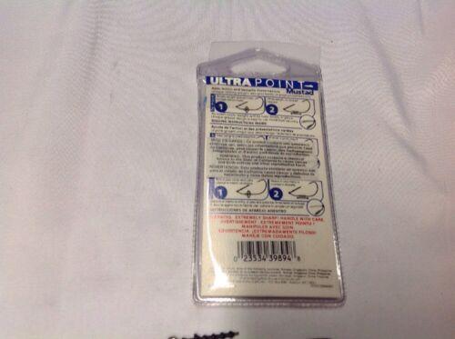 Mustad 91768UB14 7//0 Power Lock Plus Bait Keeper 1//4 Oz Hook 3 Count