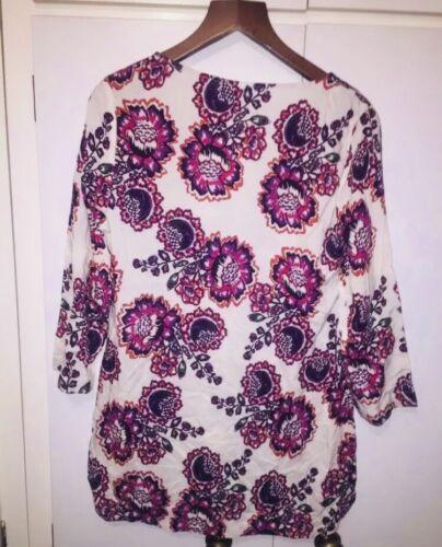 Camicia stile Floral Multi East Top Kurti Taglie Colored Lewis 10 John 8 wqzxZqvH