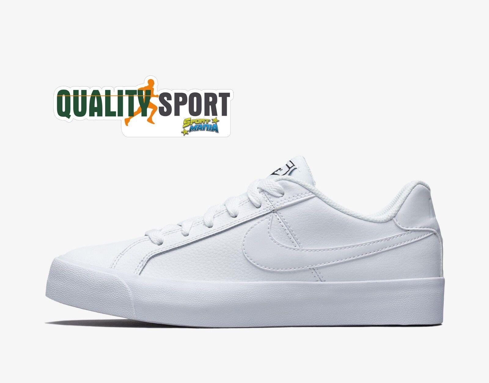 Nike Court Royale AC Bianco shoes women Ragazzo Sneakers AO2810 102
