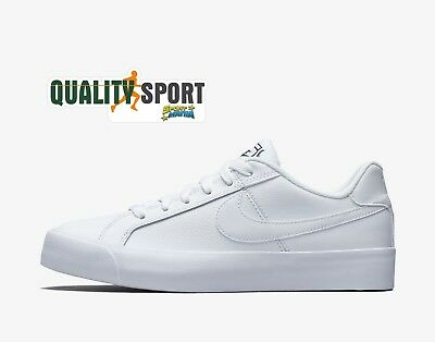 Nike Court Royale AC Bianco Scarpe Shoes Donna Ragazzo Sneakers AO2810 102 2019 | eBay