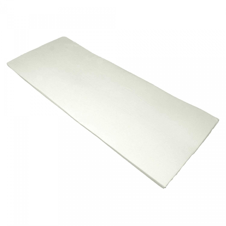 Bezug für Viscoauflage 4-6 cm, waschbar bis 95°C, mit 3-seitigem Reißverschluß