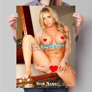 Details about Samantha Saint Sexy Custom New Art Poster Print Wall Decor  Personalized