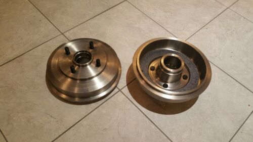 FORD FOCUS MK 1 98-05 TWO REAR BRAKE DRUMS FOR BOTH SIDES EXCLUDING BEARINGS