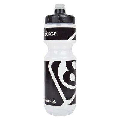 Origin8 Insulated Water Bottle Clear//Black Pressure Valve