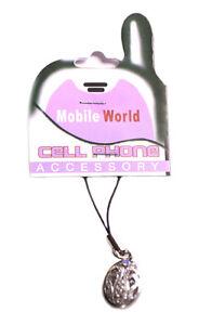 Aimable Magnifique Clair Cristaux Hollow Out Chrome Oeuf/accessoires Mobiles Charme (zx175)