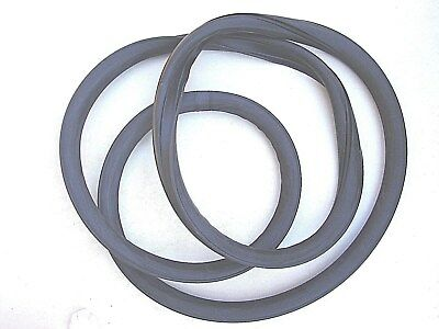1949 1950 1951  49 50 51 FORD CAR BACK GLASS RUBBER  DOUBLE GROVE NEW