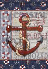 Rusty Anchor Decorative House Banner Double-sided Garden Flag Yard Flag12X18/'/'