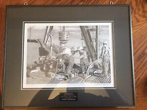 Owen-Garratt-Limited-Edition-Drawing-Of-Drilling-Crew-On-Drilling-Rig