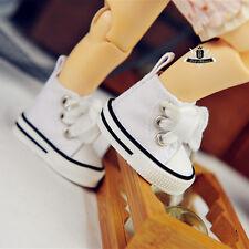 1/6 BJD Shoes Yosd White canvas Sneaker Shoes Boots Dollfie DIM DOD AOD SOOM DZ